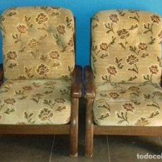 Antigüedades: PAREJA DE SILLONES MODERNISTAS.. Lote 95637963