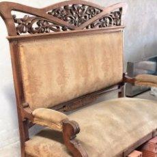 Antigüedades: SOFÁ MODERNISTA. Lote 95664807