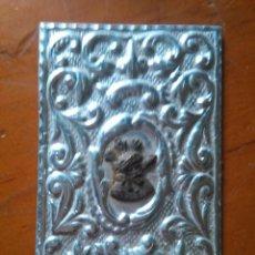 Antigüedades: PLACA DE METAL CON IMAGEN DEL CRISTO DEL GRAN PODER SEMANA SANTA SEVILLA . Lote 95665511