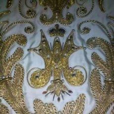 Antigüedades: MANTO ANTIGUO PARA VIRGEN DE UNOS 40-45CM. Lote 95672451