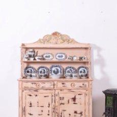 Antigüedades: ANTIGUO APARADOR PLATERO FLORE. Lote 95696599