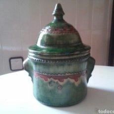 Antigüedades: CAZUELA ANTIGUA CERAMICA TITO ÚBEDA. Lote 95698332