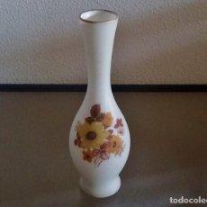 Antigüedades: JARRÓN DE CRISTAL OPALINO - MADE IN ITALY - REF. 825. Lote 95701211
