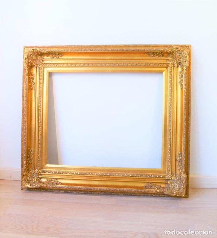 antiguo marco estilo francés dorado año 1950-60 - Comprar Marcos ...