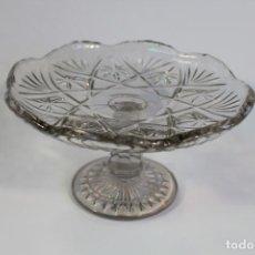 Antigüedades: FRUTERO EN CRISTAL DE SANTA LUCIA - CARTAGENA . Lote 95761755