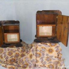 Antigüedades: MESILLAS ART DECÓ. 1920/1940. LA PAREJA. RESURRECCIONLOWCOST.. Lote 95763655