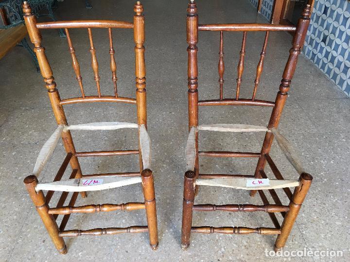 2 sillas comedor de enea para poner nueva la en comprar for Sillas comedor nuevas