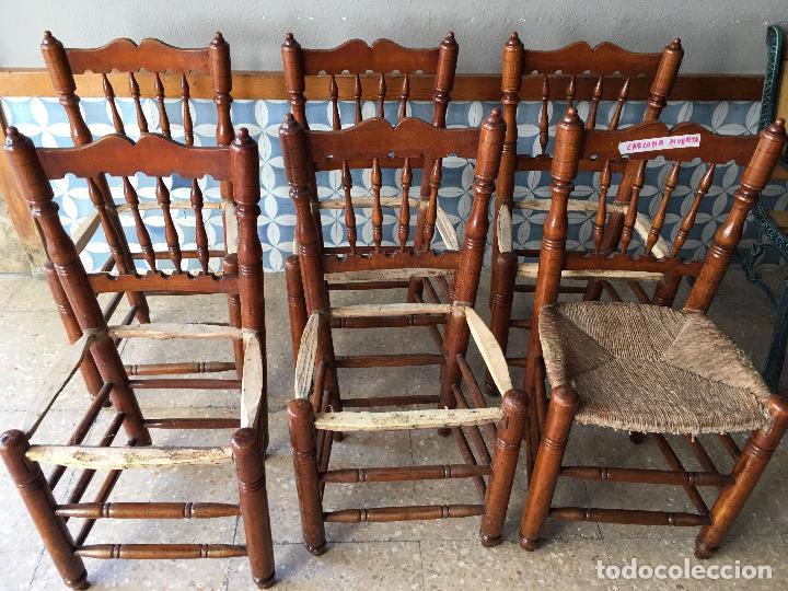 6 sillas comedor de enea para poner nueva la en - Comprar Sillas ...