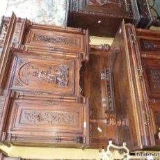 Antigüedades: APARADOR DE MADERA. Lote 95776479