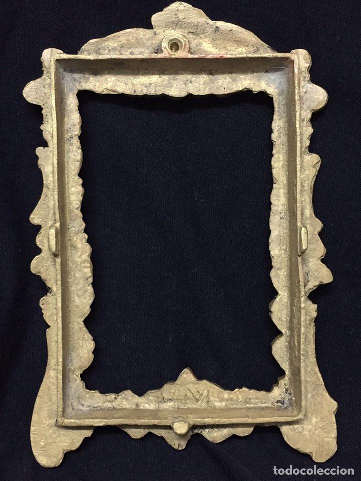 Antigüedades: ANTIGUO MARCO BRONCE S XIX FOTOGRAFIA 6 X 9 FRANCIA - Foto 6 - 95789034