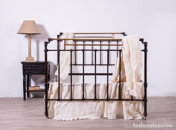 Antigua cama de hierro comprar camas antiguas en todocoleccion 95808319 - Camas de hierro antiguas ...