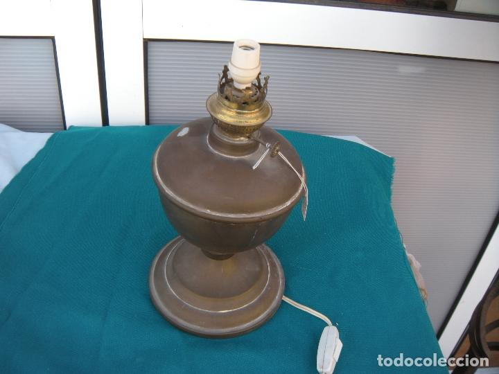 Antigüedades: QUINQUÉ DE BRONCE - Foto 3 - 95852099