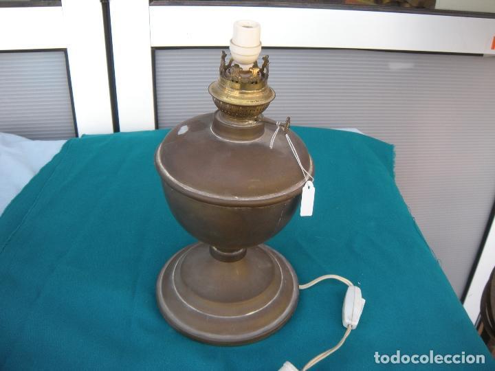 Antigüedades: QUINQUÉ DE BRONCE - Foto 5 - 95852099