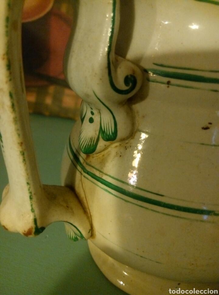 Antigüedades: Jarra pickman medalla oro exposicion londres 1862 - Foto 5 - 95855896