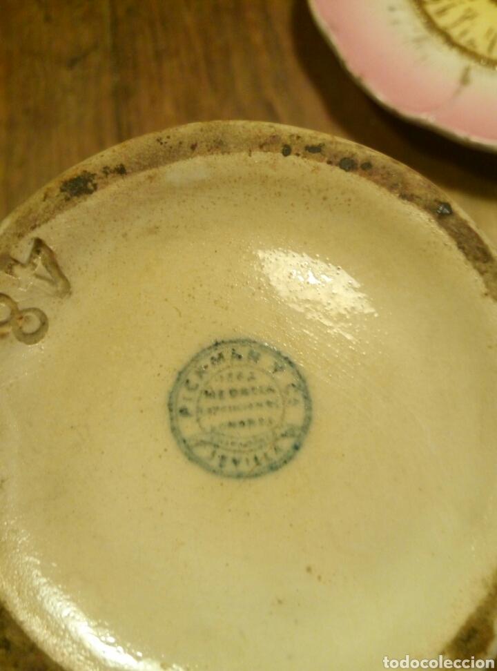 Antigüedades: Jarra pickman medalla oro exposicion londres 1862 - Foto 7 - 95855896