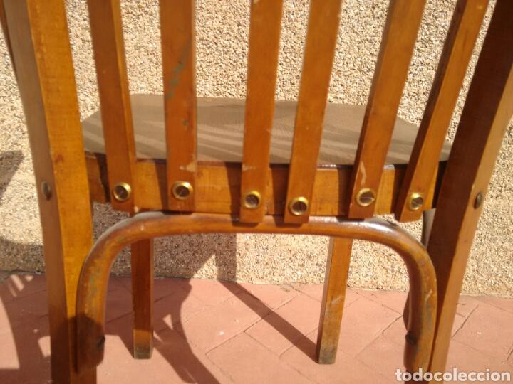 Antigüedades: Silla despacho antigua - Foto 5 - 95881186