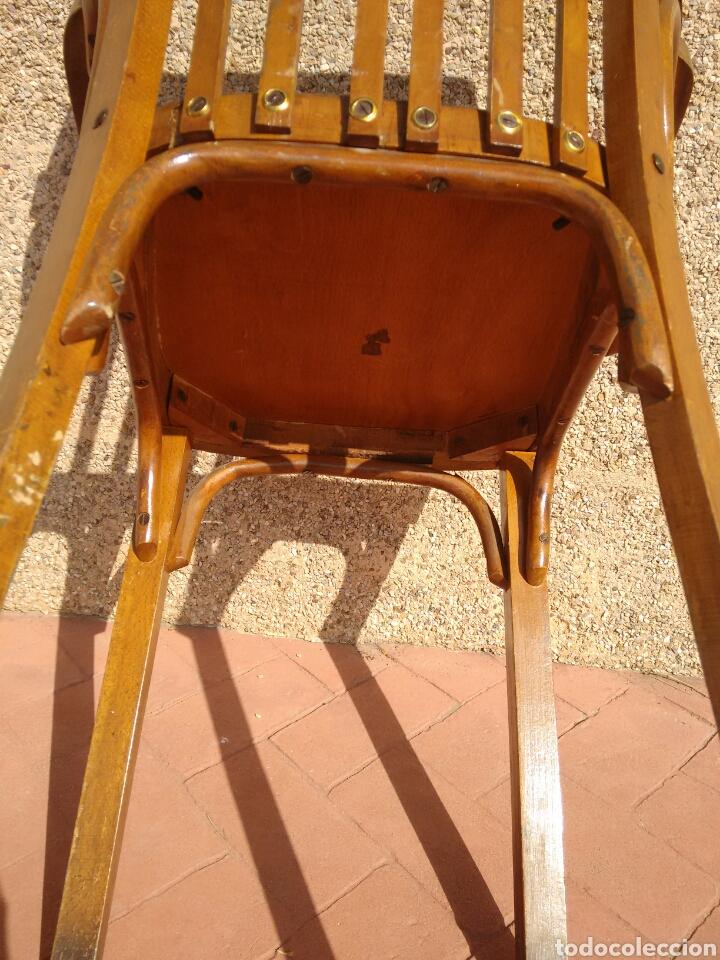 Antigüedades: Silla despacho antigua - Foto 6 - 95881186