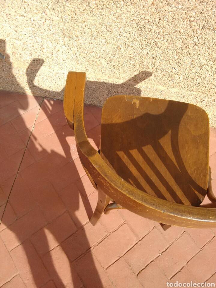 Antigüedades: Silla despacho antigua - Foto 7 - 95881186