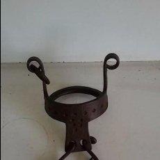 Antigüedades: BOCADO O FRENO MARROQUI EN HIERRO,PARA CABALLO, DE 80 MM DE DIAMETRO.. Lote 95894471