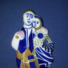Antigüedades: FIGURA SARGADELOS PAREJA DE LABRADORES . Lote 95948859
