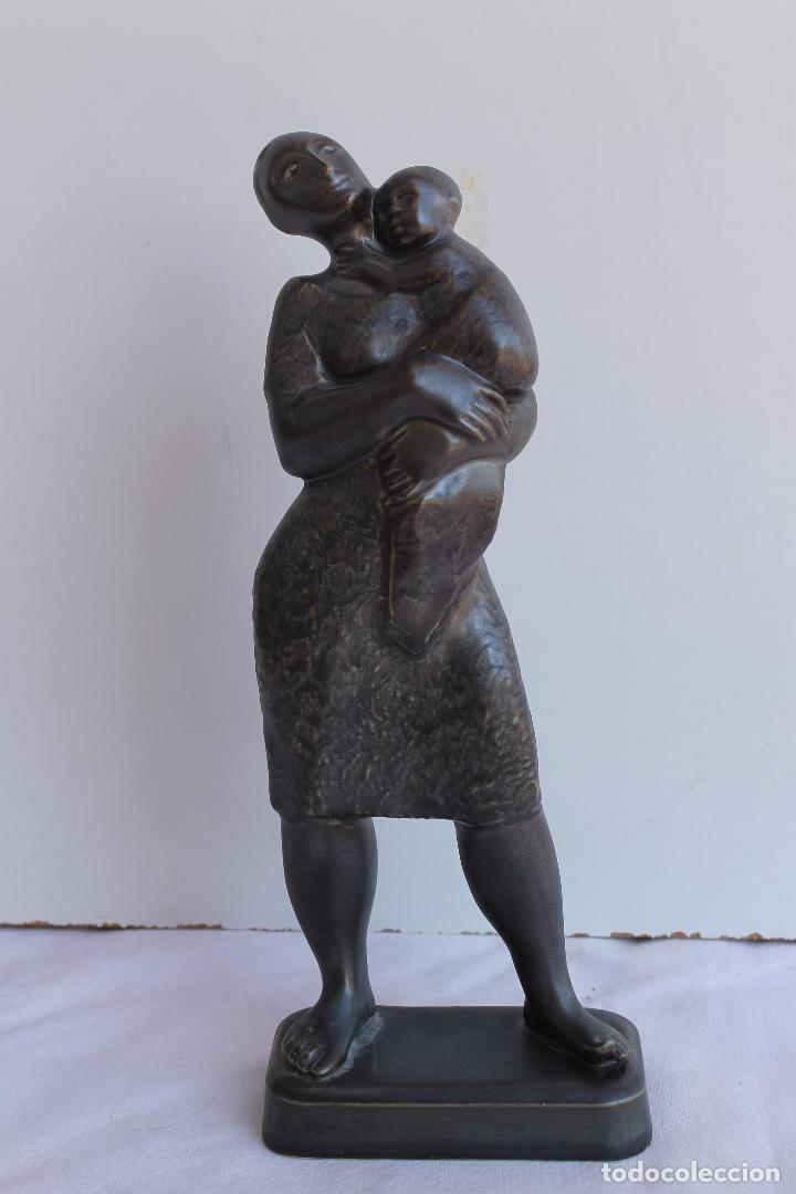 MATERNIDAD PORCELANA ALGORA (Antigüedades - Porcelanas y Cerámicas - Algora)