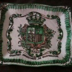 Antigüedades: BANDEJA DOMINGO PUNTER-ARAGON. Lote 95959859