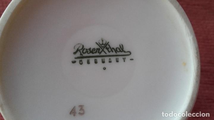Antigüedades: Preciosa lechera de porcelana,rosenthal germany.tamaño pequeño. - Foto 4 - 95964899