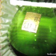 Antigüedades: CAJA CON SEIS VASOS DE CRISTAL SOPLADO. Lote 96007107