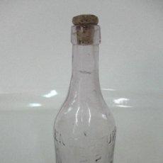 Antigüedades: ANTIGUO BOTELLA FARMACIA - CRISTAL SOPLADO - ENOLATURO - POR EL DR TOMAS PADRO, BARCELONA. Lote 96007319