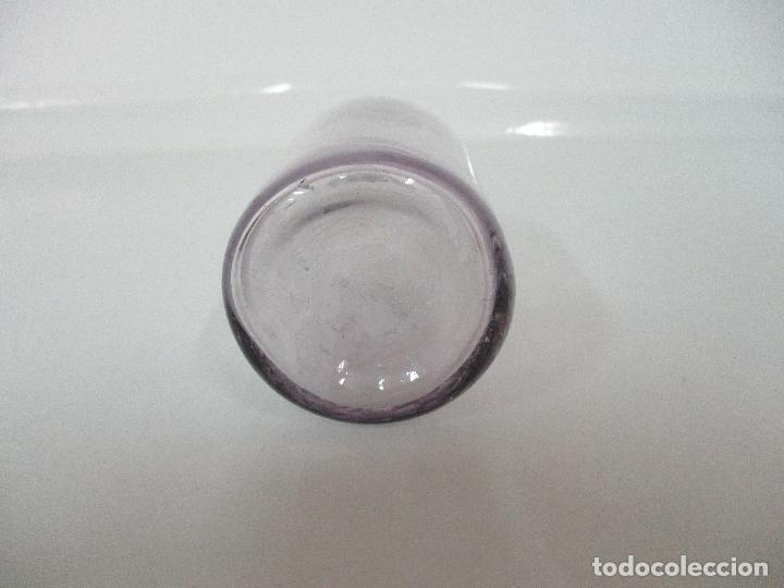Antigüedades: Antiguo Botella Farmacia - Cristal Soplado - Enolaturo - por el Dr Tomas Padro, Barcelona - Foto 4 - 96007319