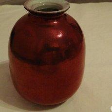 Antigüedades: JARRÓN REFLEJOS, ART DECO, ÚNICO. Lote 96047315