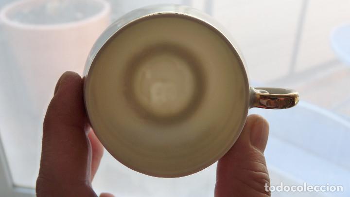 Antigüedades: DELICADO JUEGO DE CAFÉ (12 SERVICIOS) DE PORCELANA JAPONESA EIHO GRADE A - Foto 4 - 96101111