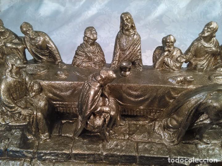 Antigüedades: SANTA CENA. GRUPO ESCULTORICO EN ESTUCO DORADO. CENTROEUROPA. SEGUNDO CUARTO DEL S. XX. - Foto 10 - 96104575