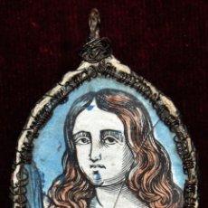 Antigüedades: ANTIGUO RELICARIO DE FINALES DEL SIGLO XVIII. Lote 96137031
