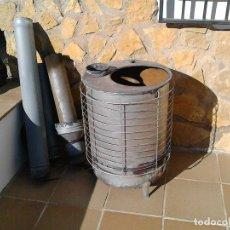 Antigüedades: ESTUFA DE LEÑA. Lote 96139423