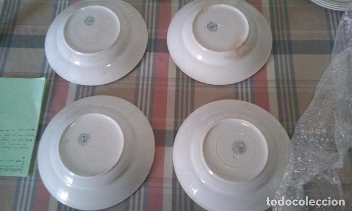Antigüedades: Lote de 6 platos hondos. San Juan de Aznalfarache. Sevilla - Foto 4 - 96141519
