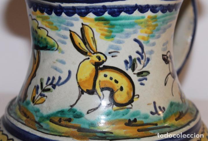 Antigüedades: JARRA EN CERÁMICA ESMALTADA DE TRIANA - SANTA ANA - PRINCIPIOS DEL SIGLO XX - Foto 2 - 96173863