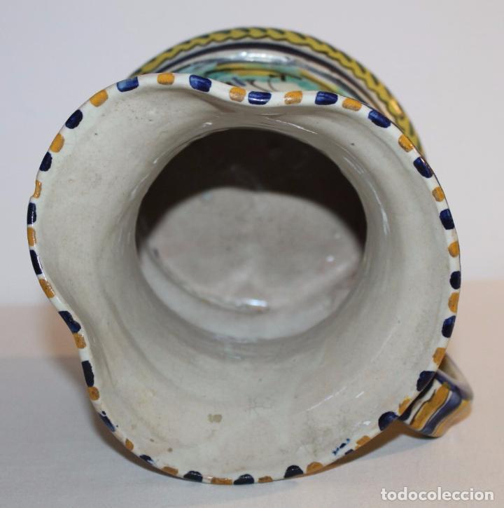 Antigüedades: JARRA EN CERÁMICA ESMALTADA DE TRIANA - SANTA ANA - PRINCIPIOS DEL SIGLO XX - Foto 6 - 96173863