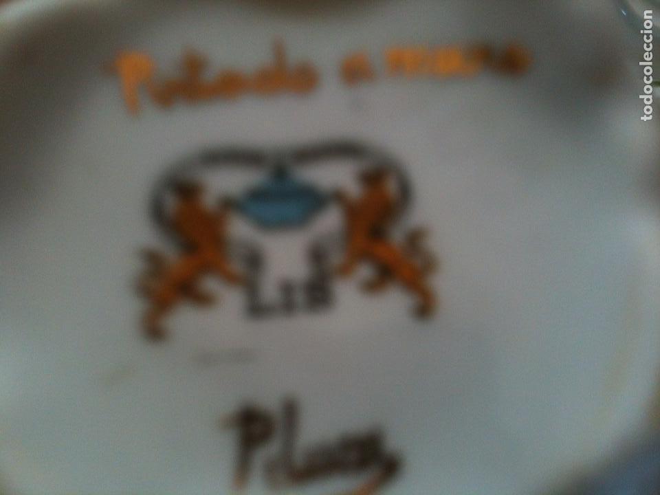 Antigüedades: JUEGO DE CAFE,COMPLETO-PINTADO A MANO,PILUCA-VIPOR-ESPAÑA-LIS - Foto 3 - 96184831