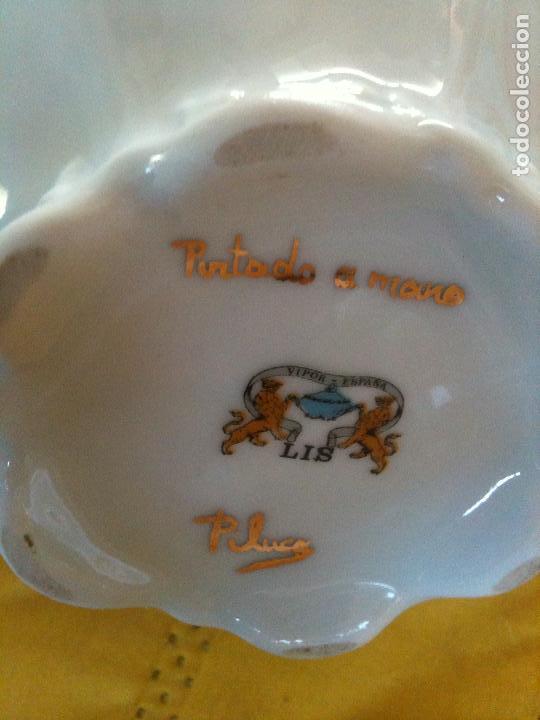 Antigüedades: JUEGO DE CAFE,COMPLETO-PINTADO A MANO,PILUCA-VIPOR-ESPAÑA-LIS - Foto 5 - 96184831