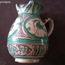 Antigüedades: JARRA VINO GRANDE LITRO PUNTER. Lote 96210231