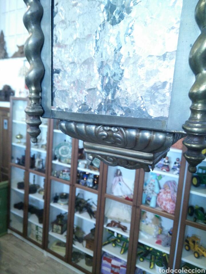 Antigüedades: Farol de laton - Foto 4 - 96216434