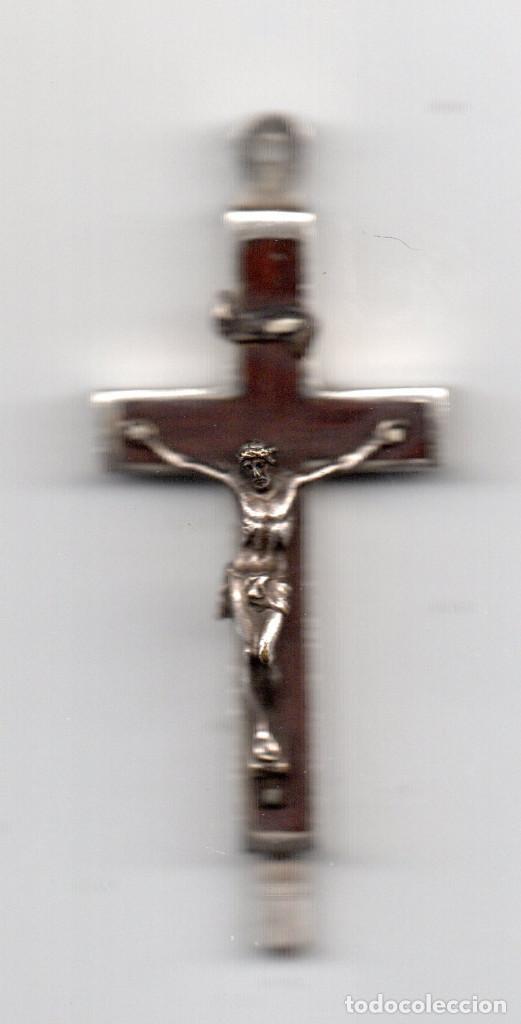 CRUZ TIPO RELICARIO ROMA CATACOMBE SAN CALLISTO (Antigüedades - Religiosas - Cruces Antiguas)