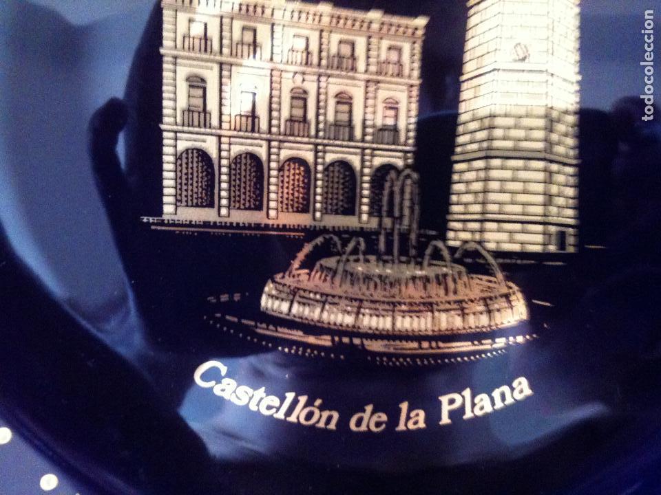 Antigüedades: PLATO PINTADO CON ORO DE LEY-CASTELLON - Foto 8 - 96293227