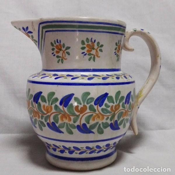 ESTUPENDA JARRA DE CERÁMICA MANISES FIRMADA GIMENO (Antigüedades - Porcelanas y Cerámicas - Manises)
