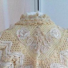 Antigüedades - Espectacular Manton Pelerina antiguo Bellamente trabajado de gran calidad circa 1850 - 96346439