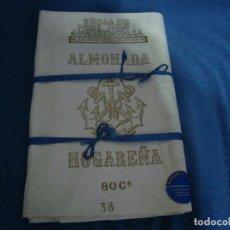 Antigüedades: TELA ALMOHADAS J. COMA Y CROS S.A. 80CM DE ANCHO X 8 METROS. Lote 96403375