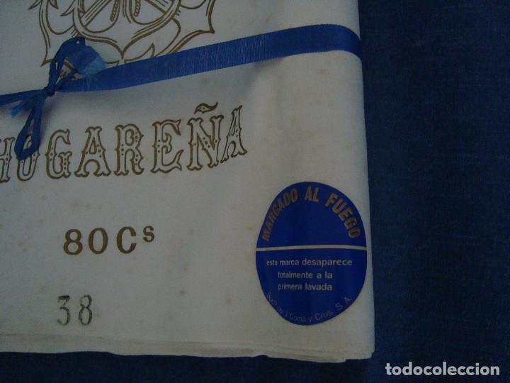 Antigüedades: TELA ALMOHADAS J. COMA Y CROS S.A. 80CM DE ANCHO X 8 METROS - Foto 2 - 96403375