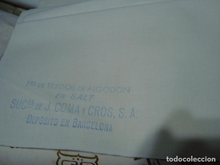 Antigüedades: TELA ALMOHADAS J. COMA Y CROS S.A. 80CM DE ANCHO X 8 METROS - Foto 3 - 96403375