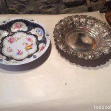 Antigüedades: ANTIGUA PAREJA DE BANDEJA / BANDEJAS DE LATA DE LOS AÑOS 60-70 . Lote 96417575